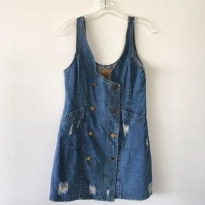 Vintage Denim dress from Cape Town, SA